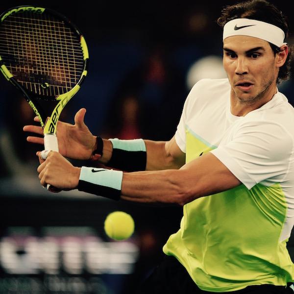 Rafael Nadal Tennis Racquet Babolat Pure Areo