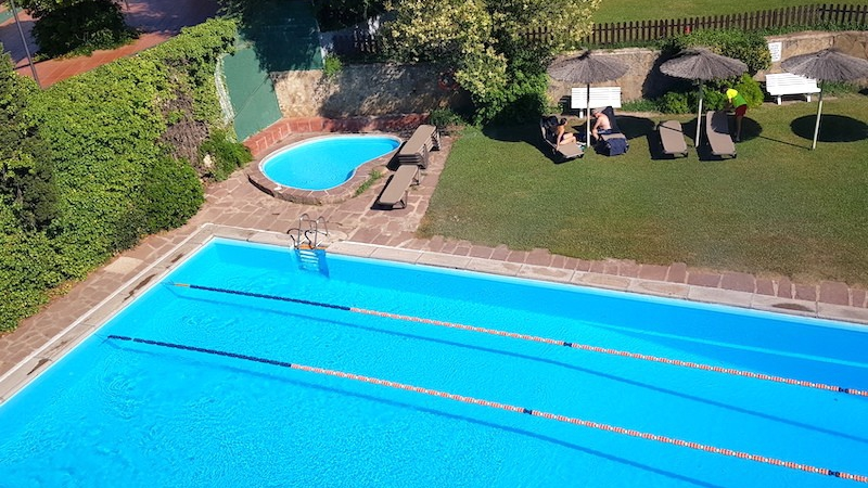 Swimming pool in Barcelona
